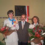 powitanie złotej medalistki paraolimpiady w Atenach 2004r. Kasi Pawlik