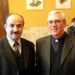 ks.Enzo Ronzitti z Termoli po otrzymaniu przez niego medalu za zasługi dla miasta Chorzowa 2005r.