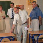 wizytacja szkół przed rozpoczęciem roku szkolnego 2005r